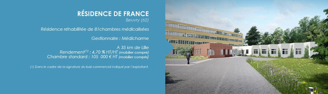 BEUVRY - RESIDENCE DE FRANCE