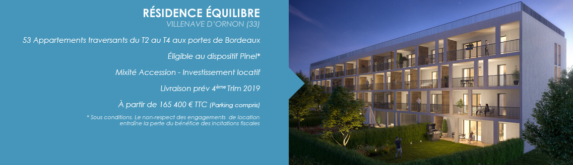 VILLENAVE - RESIDENCE EQUILIBRE