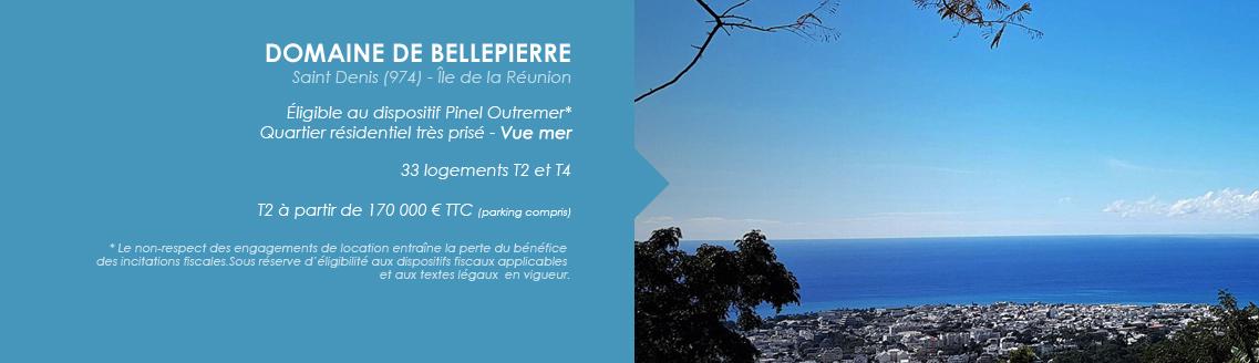 DOMAINE DE BELLEPIERRE - SAINT DENIS - ILE DE LA REUNION